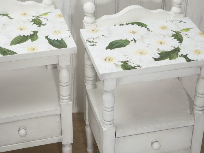 """SnoWhite"" Bedtables"